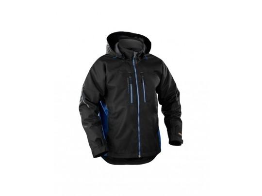 48901977-lettforet-funksjonell-jakke sort-blå